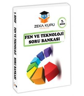 7. Sınıf Fen ve Teknoloji Soru Bankası Zeka Küpü Yayınları