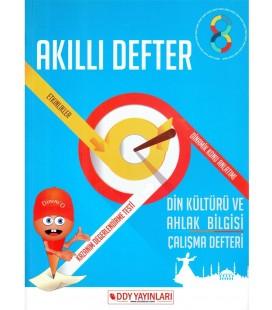 DDY Yayınları 8. Sınıf Din Kültürü ve Ahlak Bilgisi Akıllı Defter