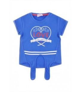 Riccione Kız Çocuk Lacivert T-Shirt 3434ROR4516