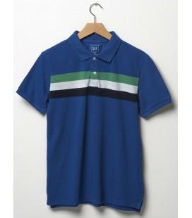 GAP Çizgili Polo Yaka T-Shirt 199093