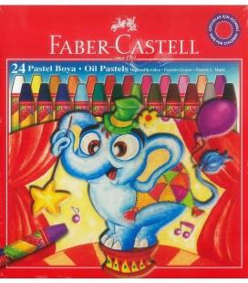 Faber Castell Pastel Boya 24'Lü Redline Karton Kutu