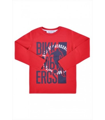 Bikkembergs Erkek Çocuk T-Shirt 3232DJMTE60