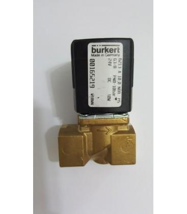 Burkert Valf 6213 A 10,0 NBR G3/8 PN0-10Bar 24V