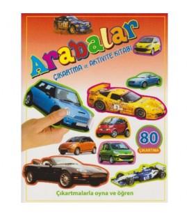 Arabalar (Çıkartma Ve Aktivite Kitabı)