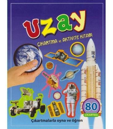 Uzay Çıkartma ve Aktivite Kitabı