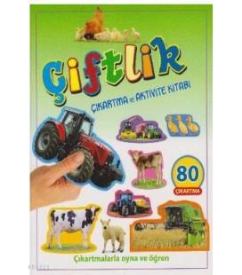 Çiftlik-Çıkartma ve Aktivite Kitabı