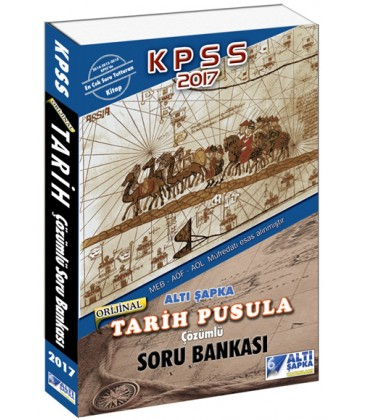 2017 KPSS Tarih Pusula Çözümlü Soru Bankası