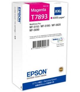 Epson T7893 Kırmızı Magenta Orjinal Kartuş C13T789340
