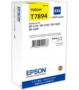 Epson Orjinal Sarı Kartuş T7894 XXL C13T789440