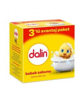 Dalin 3'lü Sabun Bebek Sabunu