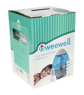 Weewell WHC730 Soğuk Buhar Üfleyici  İonizerli  Filtre Teknolojisi  Otomatik Nem Ayarı  Oda Sıcaklığını Gösterme 5L
