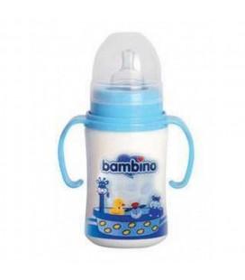 Bambino PP Kulplu Geniş Ağızlı Biberon 250 ml BE-818