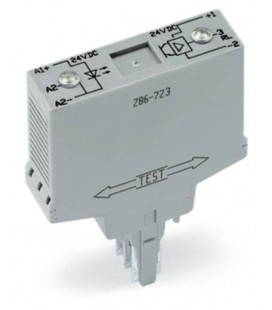 WAGO 286-723 Optocoupler module input DC 24 V output DC 24 V/4 A