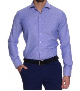 DS Damat Gömlek 7HF022932185 Mavi Renk