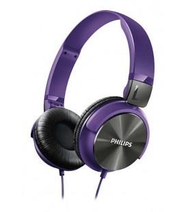 Philips  Kulaküstü Mor Kulaklık SHL3160
