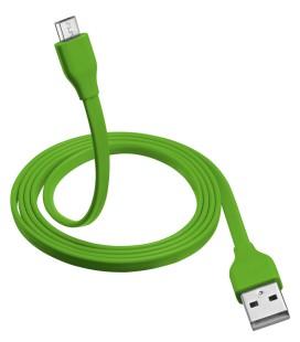 URBAN REVOLT 20138 Micro USB Kablo 1m Yeşil