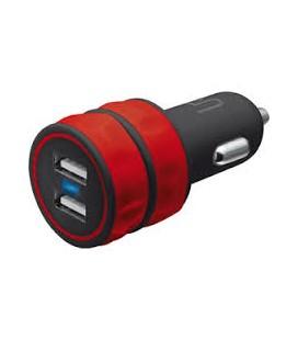 Trust 20157 Urbanrevolt Araç Tipi İkili Sarj Cihazı Kırmızı