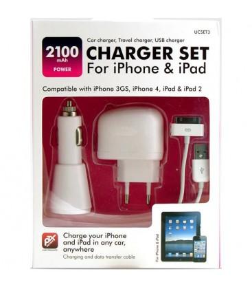 PETRIX  iPad ve iPhone 4s İçin Şarj Seti