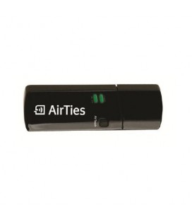 Airties Air 2411 Dual Band 300 Mbps 2.4/5Ghz Kablosuz USB Adaptör
