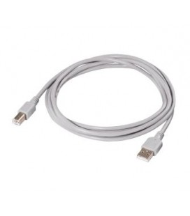 Gray Hama USB connection cable, 2.5 m 34674