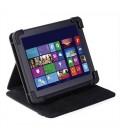 "Eye-q 8"" Universal Tablet Case Black Faux Leather EQ-LTAB8BK"