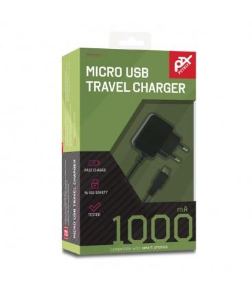Petrix M1000T Micro USB Travel Charger MO