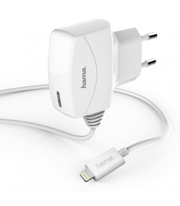 HAMA MFI Lightning iPhone charger 1000 mA Licensed 102098 6s