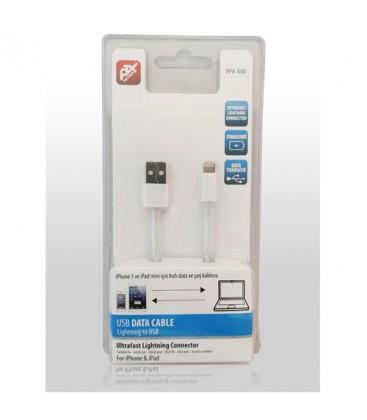 Petrix PFK600 iPhone 7/ Data ve Şarj Kablosu