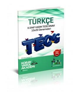 8. Sınıf Türkçe Kasım TEOG 10x20 Denemeleri