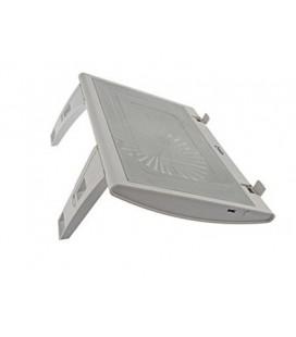 """eye-q EQ-2 fans CP200W White 15"""" Notebook cooler"""