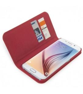 Tucano Samsung Galaxy S6 Edge Kırmızı Kapaklı Kılıf