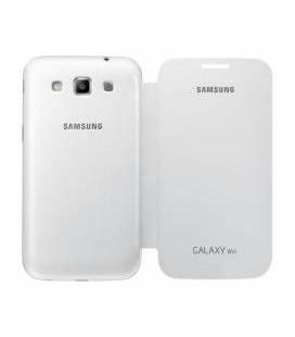 Samsung Galaxy Win Flip Cover Kapaklı Beyaz Kılıf