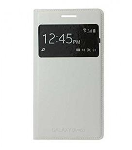 Samsung Grand 2 Beyaz S View Cover Kapaklı Kılıf