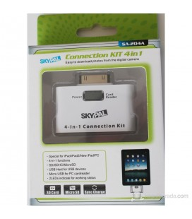 Skyfall TU-204A iPad/iPad2/New iPad USB and card reader