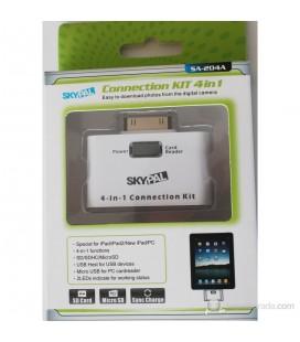 Skypal SA-204A iPad/iPad2/New iPad USB ve Kart Okuyucu