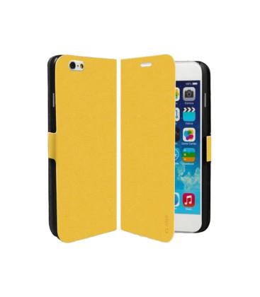SBS Book Case iPhone 6 Uyumlu Koruyucu Kılıf Sarı
