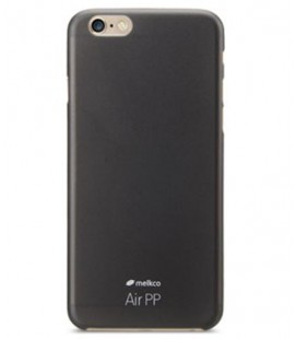 Melkco Air PP iPhone 6 Plus transparent black Cover