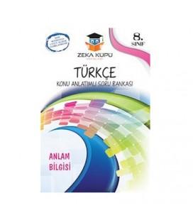 8. Sınıf Türkçe Konu Anlatımlı Soru Bankası Zeka Küpü Yayınları