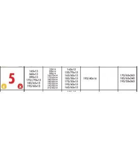Knk X Tipi Binek Araç Kar Zinciri No.5