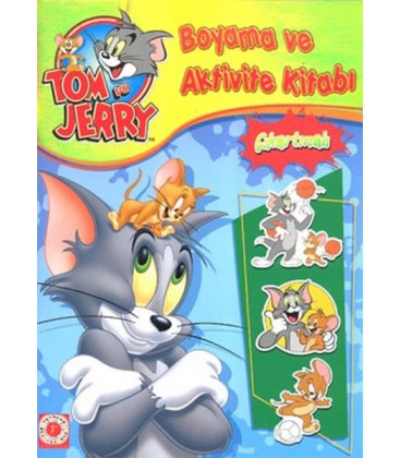Tom Ve Jerry Boyama Ve Aktivite Kitabı çıkartmalı Gümrük Deposu