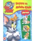 Tom ve Jerry Boyama ve Aktivite Kitabı Çıkartmalı
