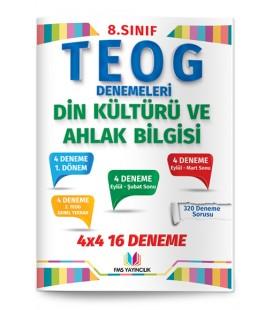 8.Sınıf TEOG Fen Bilimleri 4×4 16 Deneme Fsm Yayıncılık