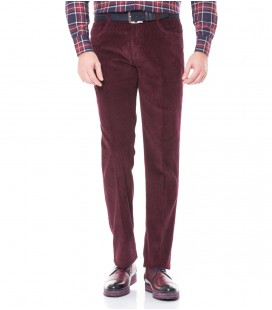 Karaca Erkek Regular Fit Pantolon Bordo 113403008