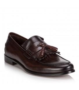 Hotiç Jhullo Kahverengi Bağcıksız Erkek Ayakkabı