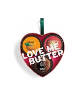 The Body Shop Body Butter  3lü Hediye  Seti Meyve Aromalı