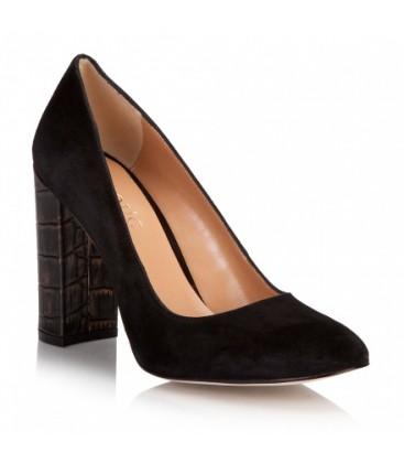 Hotiç TADYIKY Siyah Bakır Bayan Ayakkabısı