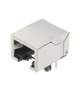 Harting RJI RJ45 Buchse 10/100 Mbit Vert. led 09455511142