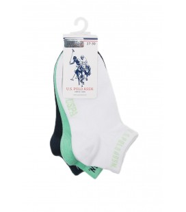U.S. Polo Assn. Yeşil Erkek Çocuk Çorap A083SZ013.P01.HADLEY.YS0604