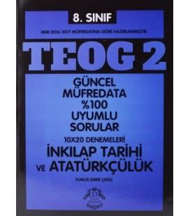 8. Sınıf TEOG -2 İnkılap Tarihi ve Atatürkçülük Deneme - Duru Akademi