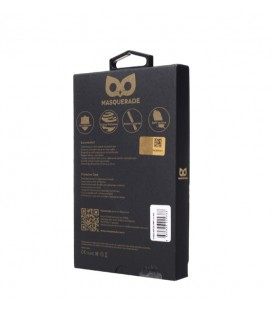 MASQUERADE iPhone 6s Plus Koruyucu Kılıf 0.3 mm Siyah